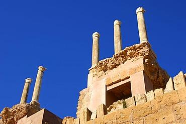 Roman ruins, Leptis Magna, Libya