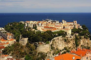 View at the town of Monaco, Monaco