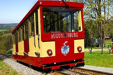 Funicular railway Erdmannsdorf?Augustusburg, Saxony, Germany