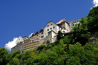 Castle of Vaduz, Principality of Liechtenstein