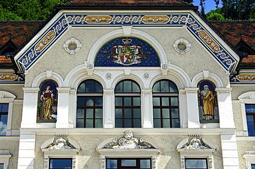 Government house, Vaduz, Principality of Liechtenstein