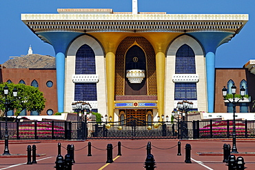 Al Alam Palace, Muscat, Oman, Middle East