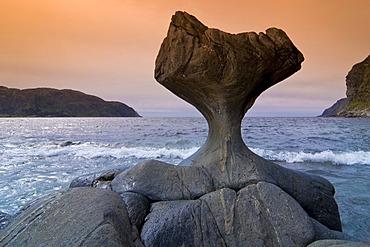 Rock formation Kannesteinen, Sogn og Fjordane, Norway