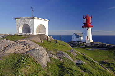 Lighthouse at Cape Lindesnes, South Cape, Vest-Agder, Norway