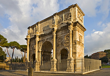 Arch of Constantine, Rome, Italy, Europe