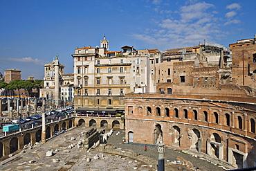 Trajanus Markets, Rome, Italy, Europe