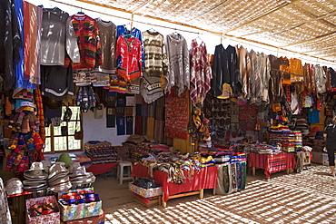 Souvenir shop, San Pedro de Atacama, Region de Antofagasta, Chile, South America
