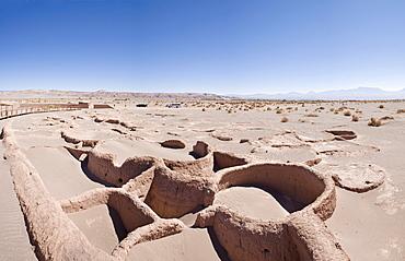 Ruins of Tulor, an ancient Atacamenos village, San Pedro de Atacama, Region de Antofagasta, Chile, South America