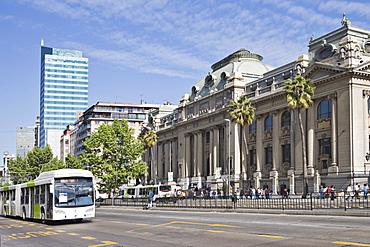 National Library, Santiago de Chile, Chile, South America