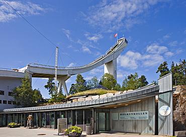 Holmenkollen Ski Jump, Holmenkollen, Oslo, Norway, Scandinavia, Europe