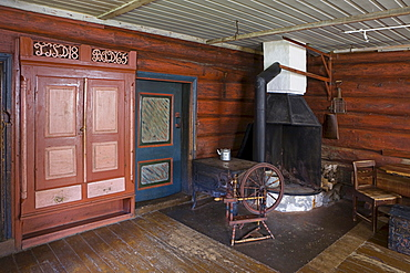 Farmhouse furnishings, DÔøΩsethof living history museum, Norway, Scandinavia, Europe