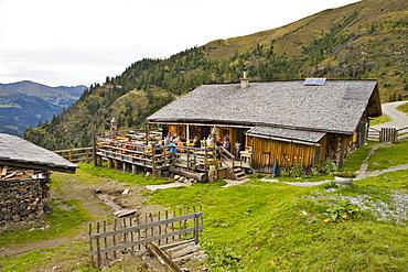 Glettenalm (Glettenalm mountain pasture), Grossarltal (Grossarl Valley), Salzburg, Austria, Europe