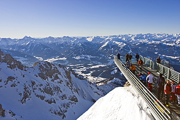 Skywalk, Dachstein Massif, Styria, Austria, Europe