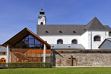 Exterior view of the Mariazell Cloister in Klein-Mariazell, Triesingtal (Triesing Valley), Lower Austria, Austria, Europe