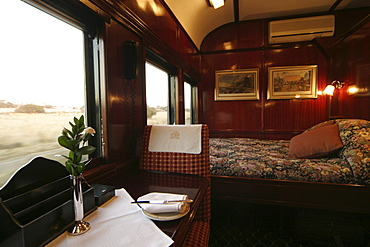 Royal Suite, Rovos Rail, Suedafrika