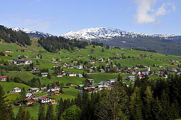 Hirschegg, Kleinwalsertal, Vorarlberg, Austria, Europe