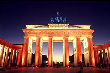 "Brandenburger Tor, ""Festival of Lights"", Berlin, Germany"