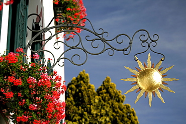 Restaurant Zur Sonne (Sun), South Tyrol, Italy
