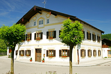 Birthplace of Pope Benedict, Marktl, Upper Bavaria, Germany