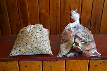 Coconut products, shavings and chips, coconut processing, Georgetown, Guyana, South America