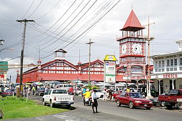 Stabroek indoor market, Georgetown, Guyana, South America