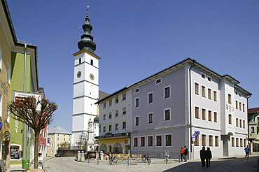 Waging am See, Traunstein County, Upper Bavaria, Germany, Europe