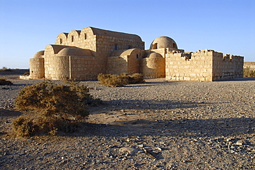 Desert castle Quseir Amra (UNESCO World Heritage Site), Jordan