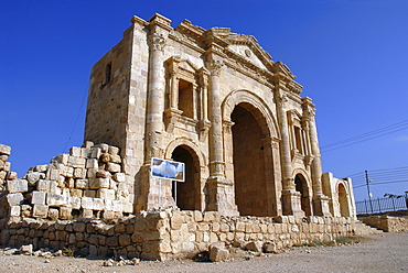South Gate of Jerash, the ancient Gerasa, Jordan