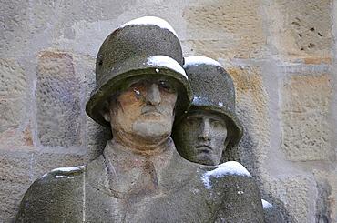 War memorial for fallen soldiers