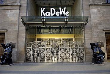 Big store KaDeWe, berlin, germany