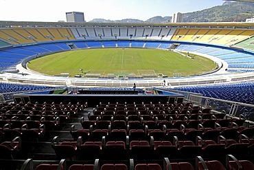 Maracana stadium, the largest soccer stadium in the world, rio de janeiro, brasil