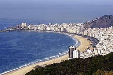 Copacabana beach, Rio de Janeiro, brasil