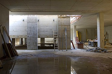 Clinic, new construction, Gelsenkirchen, North Rhine-Westphalia, Germany, Europe