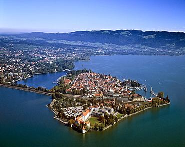 Lindau on Lake Constance, Swabia, Bavaria, Germany