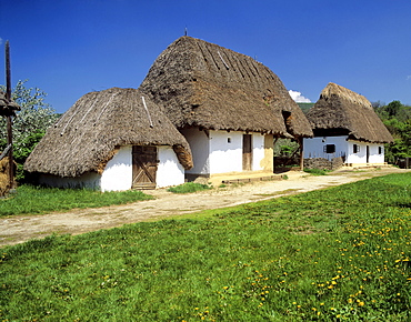 Csarda, farmhouse in the Puszta, Hungary