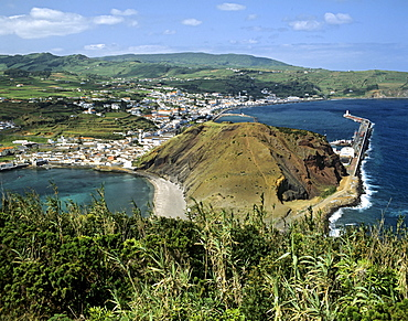 Horta on Faial Island, Azores, Portugal