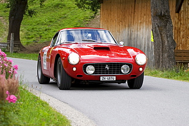 Ferrari 250 GT SWB, vintage car, year of construction 1960, Ennstal-Classic 2007, Austria