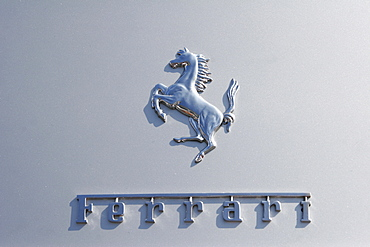 Ferrari Logo, Vintage cars Grand Prix Nuerburgring 2007, Germany