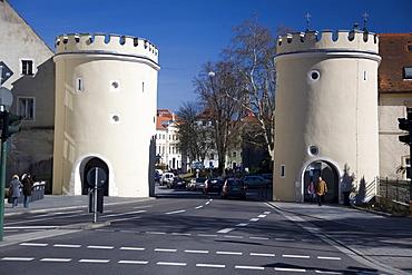 Jakobstor (Jacob's Gate), Regensburg, Bavaria, Germany