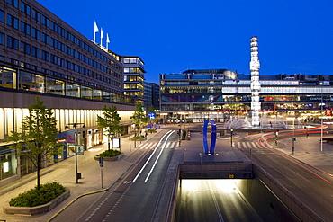 Sergels Torg with Kulturhuset, Stockholm, Sweden, Scandinavia, Europe