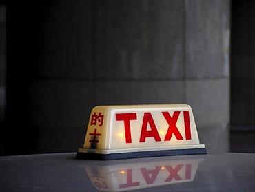 Taxi, Hongkong, China, Asia