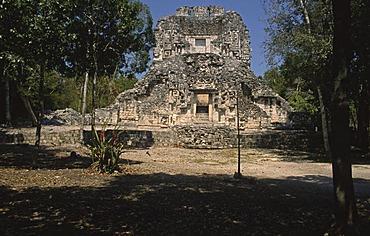 Ruins, Chicanna, Mexico, North America