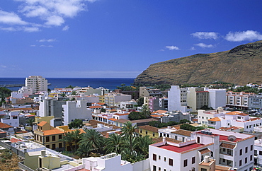View at San Sebastian, La Gomera, Canary Islands, Spain