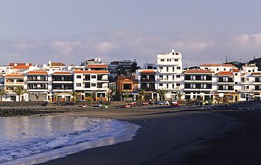 La Playa in the morning, Valle Gran Rey, La Gomera, Canary Islands, Spain