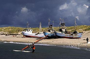 Beach of Norre Vorupor, North Jutland, Denmark