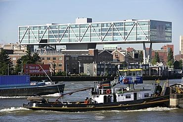 "Nieuwe Maas, Unilever Office building ""DeBruk"", Rotterdam, Netherlands"