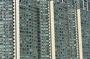 Apartments, Flats, high rise buildings, Kwai Chung, Kowloon, Honkong, China