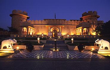Oberoi Hotel and Resort Rajvilas, Jaipur, Rajasthan, India