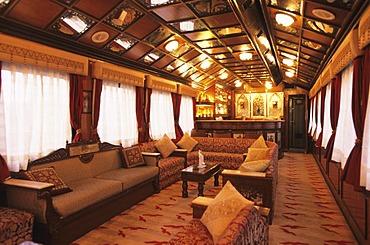 Palace on Wheels luxury train, Delhi, India