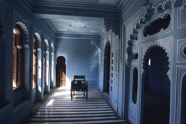 IND; India, Udaipur: City palace of the Maharajah. |